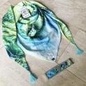 Foulard ByPa vert