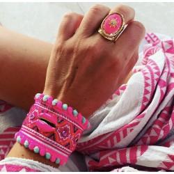 Bracelet PINCETTE Rose